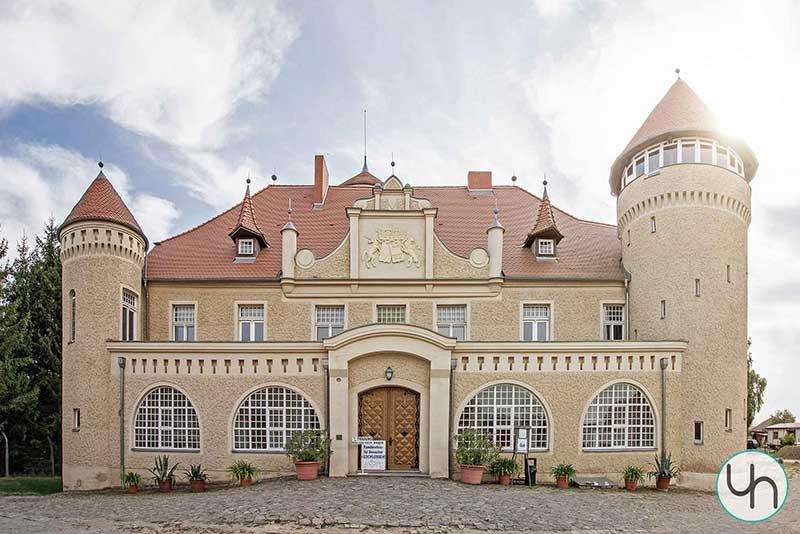 Schloss-Stolpe Außenaufnahme